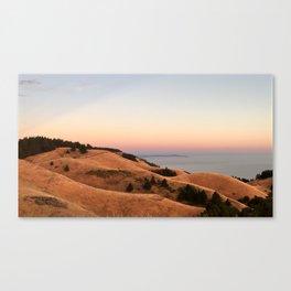 Untitled Sunset #1 Canvas Print