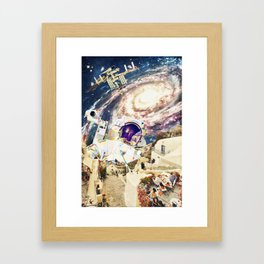 stepped out of a dream Framed Art Print