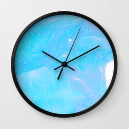 Fishtailing into New Dimensions Wall Clock
