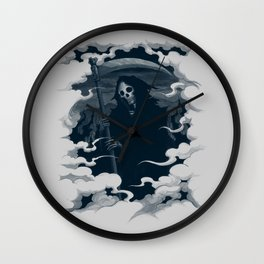 Mort Wall Clock