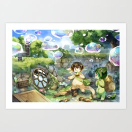 Bubble House Art Print