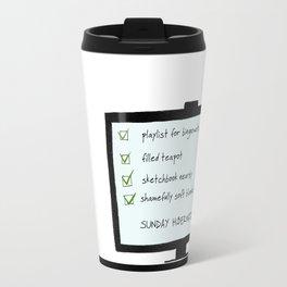 Sunday hibernation Travel Mug