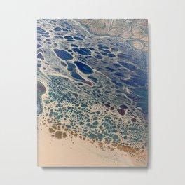 Ocean's Edge Metal Print