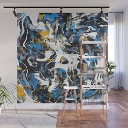 Abstract Flow IV Wall Mural