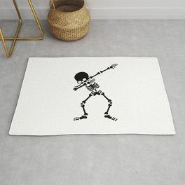 Dabbing skeleton (Dab) Rug
