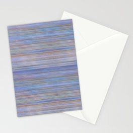 Colorful Abstract Stripped Pattern Stationery Cards