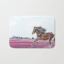 Wild Horse 1 Bath Mat