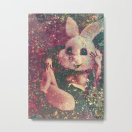 BunnyGirl Metal Print
