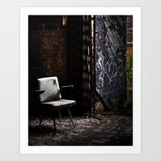 abandoned. Art Print
