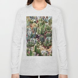 Cactus & Succulents Garden Long Sleeve T-shirt