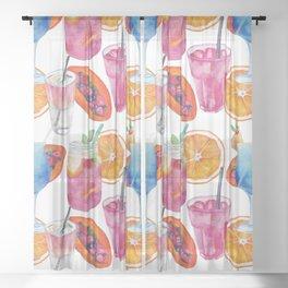 Summer #6 Sheer Curtain