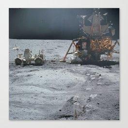 Apollo 17 Of The Lunar Rover, nasa  2 Canvas Print
