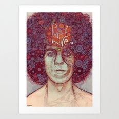 anni70barra79 Art Print