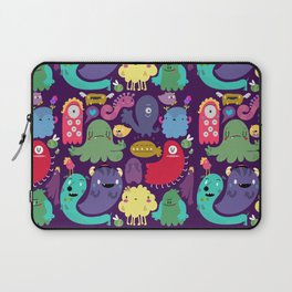 Colorful creatures Laptop Sleeve