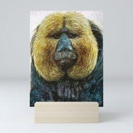 Animaline - Saki monkey Mini Art Print
