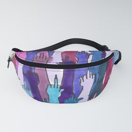 angry bisexual Fanny Pack