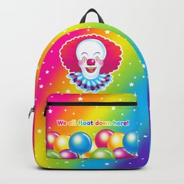 1997 It's That Scary Clown Backpack