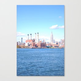 77. Brooklyn with a View, New York Canvas Print