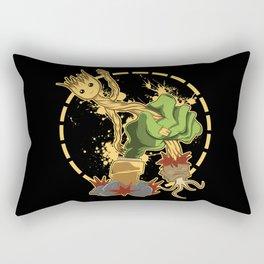 Zombi vs Plantas  Rectangular Pillow