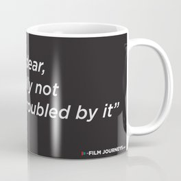 Film Journeys Misquotes: Frankly My Dear, I'm Really Not That Troubled By It Coffee Mug