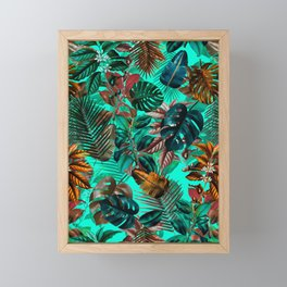 Tropical Garden II Framed Mini Art Print