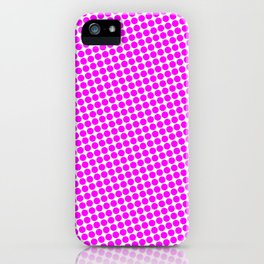 PINK DOT - SMALL - iPhone Case