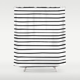 _ S T R I P E S Shower Curtain