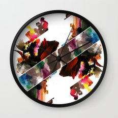 color study 2 Wall Clock