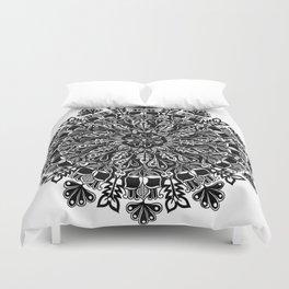 Mandala: Skeleton Leaves Duvet Cover