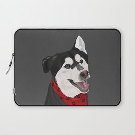 Floki the Husky Shepherd Lab Laptop Sleeve