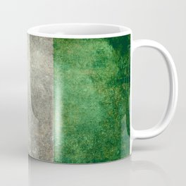 National flag of Nigeria, Vintage retro style Coffee Mug