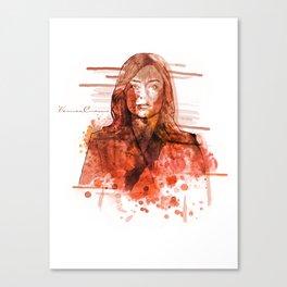 The Blacklist - Elizabeth Keen Canvas Print