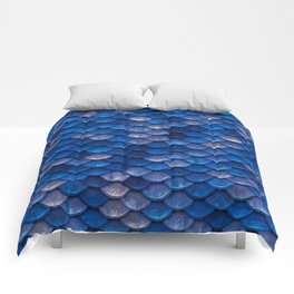 Blue Penny Scales Comforters