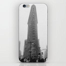 Flat Iron - vertical iPhone Skin