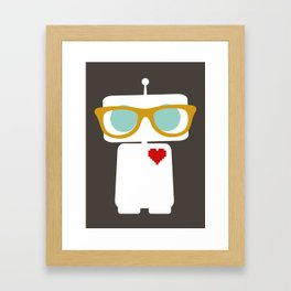 Quirky Robots Framed Art Print
