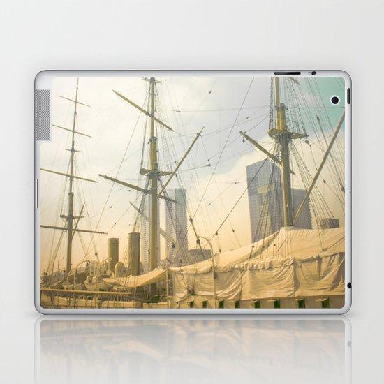Vintage Old Ship Laptop & iPad Skin