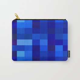 Blue Mosaic Carry-All Pouch