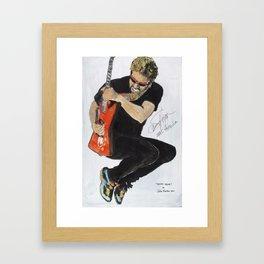 Sammy Hagar Framed Art Print