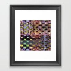 Equation ask/organize order free capture/capacity. Framed Art Print