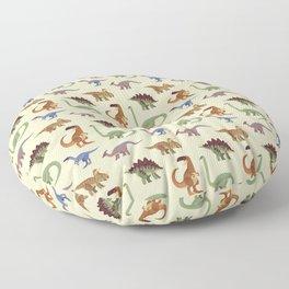 Dino Dinosaur Dinosaurs Primeval Children Pattern Floor Pillow