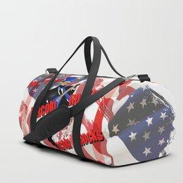 lincoln rocks Duffle Bag