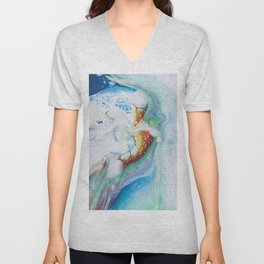blue dreams Unisex V-Neck