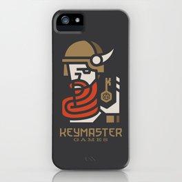 Keymaster Games iPhone Case