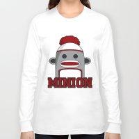 minions Long Sleeve T-shirts featuring Misha's Minions by Evie Bird