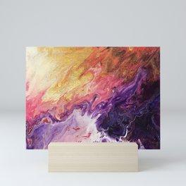 Pink Flames Mini Art Print