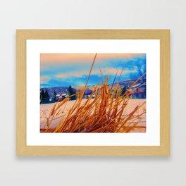 Tha Lay Of Tha Land Framed Art Print
