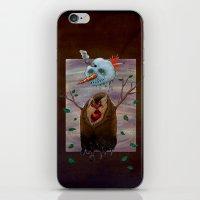 snow iPhone & iPod Skins featuring Snow by gunberk