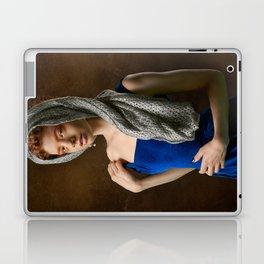 Playful Girl Laptop & iPad Skin