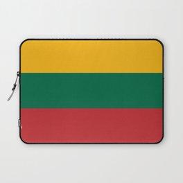 Flag: Lithuania Laptop Sleeve