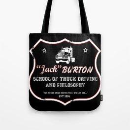 Burton Trucking Tote Bag